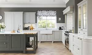 Jefferson Light Grey Gun Metal Grey LPS Kitchens