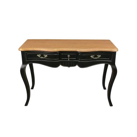 meuble bureau noir bureau noir provençal de style louis xv meuble shabby
