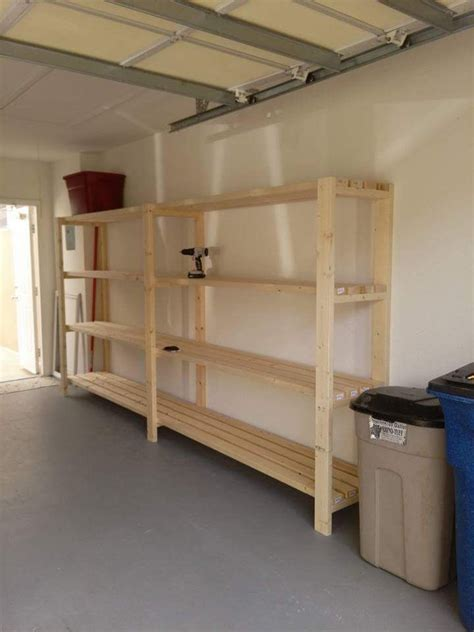 Garage Shelving Do It Yourself by Garage Shelving Unit Do It Yourself Home Projects From