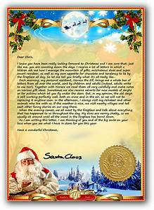 letter from santa a personalised santa letter just for you With santa claus letter uk