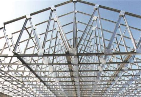 light gauge steel truss system trident steel trusses