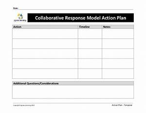 response to intervention templates - collaborative response model action plan template