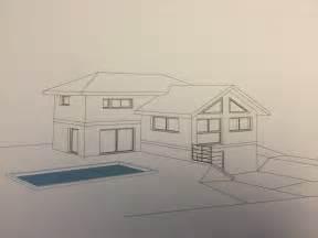 dessin maison ext notre maison par bf architecteur
