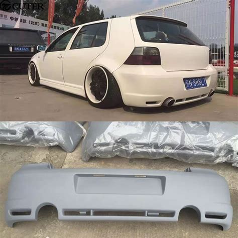 golf 4 stoßstange golf 4 r32 pu upainted hecksto 223 stange auto kit f 252 r