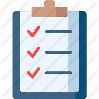 Icon Check Checklist Icons Premium Clipground