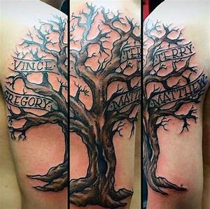 Family Tree Tattoos for Men - Ideas and Inspiration for Guys
