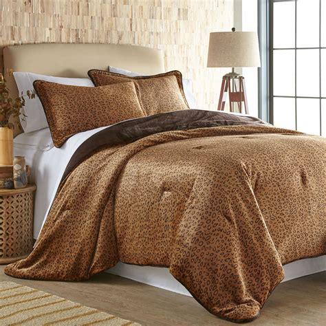 mini settee cheetah print ultra soft mini comforter set