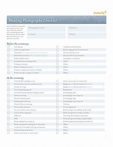 wedding photography checklist template free download With wedding photography checklist template