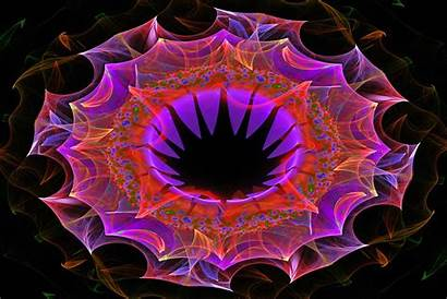 Patterns Bright Abstract Flower Fractal Psychedelic Pattern