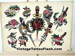 flash tattoos sailor j...