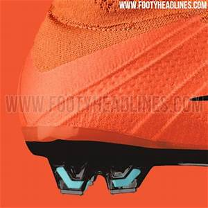 Tech wise the orange Nike Mercurial Superfly 2016 Boots