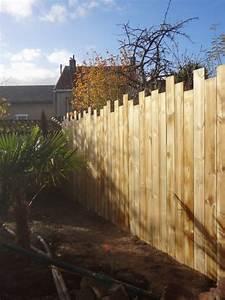 les 25 meilleures idees de la categorie portail bois sur With jardin et piscine design 2 des clatures de jardin design pour delimiter avec style