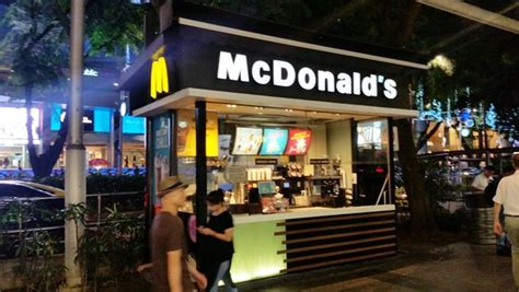kiosk stand singapore fast food source fast food menus and blogs mcdonald 39 s