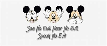 Hear Mickey Speak Disney Evil Faces Transparent