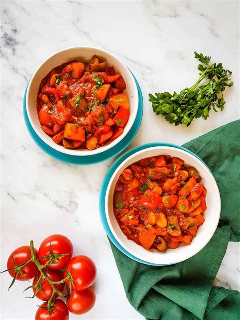 vegetable goulash hint  healthy