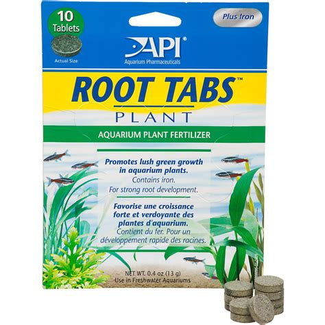 api root tabs aquarium plant fertilizer petco store