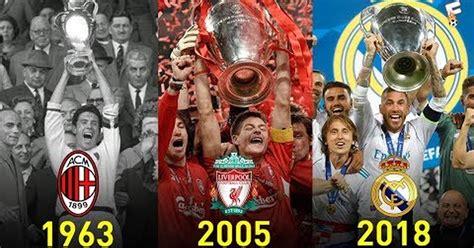 Atletico madrid crowned champions of laliga santander 2020/21.  MEMEDEPORTES  Ganadores de la UEFA Champions League ...