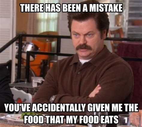Ron Meme - bacon ron swanson quotes quote addicts