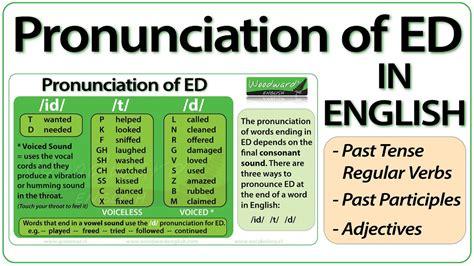 Regular Past Tense Pronunciation Exercises  Regular Past Tense Pronunciation Rulespast Verbs