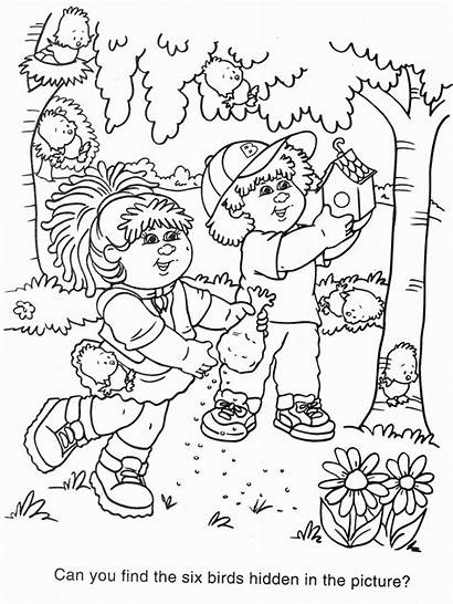 Cabbage Coloring Patch Pages Colouring Sheets Clipart