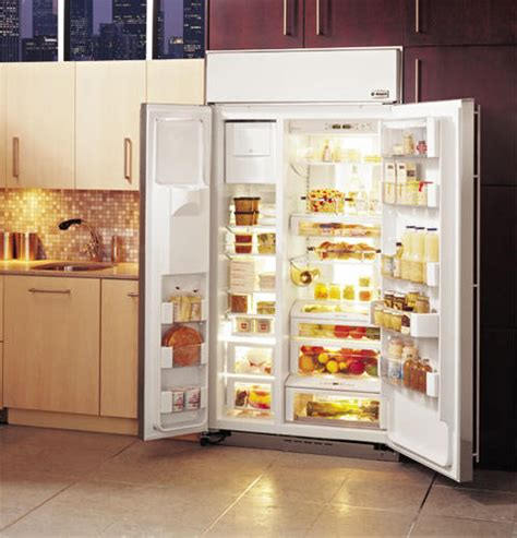 zissdrss ge monogram  built  side  side refrigerator  dispenser monogram