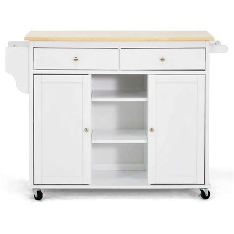 meryland white modern kitchen island cart meryland white modern kitchen island cart dcg stores