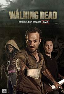 The Walking Dead Promo Poster by lmahogany on DeviantArt