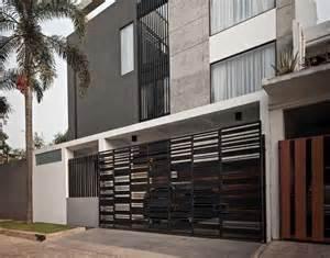 desain pagar rumah minimalis sederhana  menawan arsitag