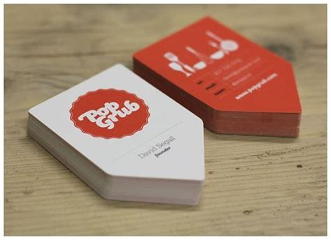 pop grub business cards  images business card