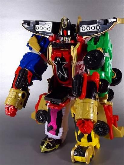 Zeo Megaforce Zord Super Racer Rangers Power