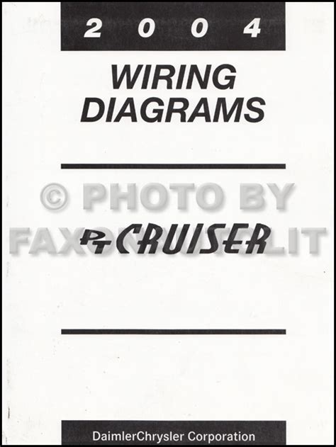 Chrysler Cruiser Wiring Diagram Manual Original