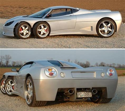 Sports Car Makes by 6 Wheeled Sports Car Makes It To Production Geekologie
