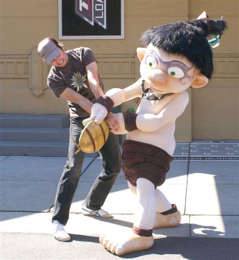 Tak Tak And The Power Of Juju Mascot Costume Character