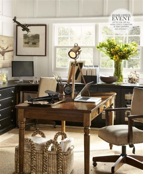 Office Decorating Ideas by Work In Coziness 20 Farmhouse Home Office D 233 Cor Ideas