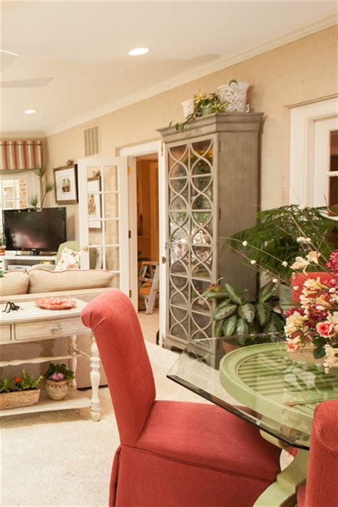 north carolina garden sunroom traditional living room