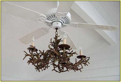 chandelier ceiling fan attachment home design ideas