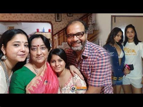 actress lakshmi daughter samyuktha actress saritha family photos with husband sons shrava