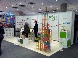 Tegu Launches Magnetic Wooden Cars at Trade Shows!