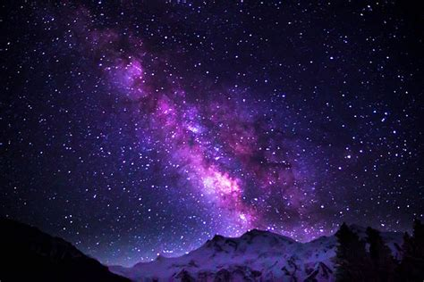 File Milky Way Galaxy Shimmering Over Nanga Parbat
