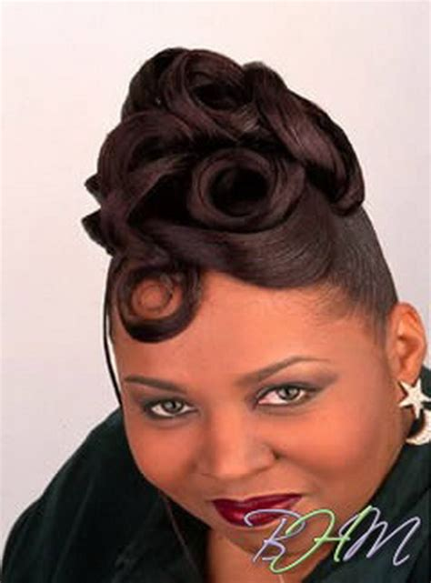 Black Updo Hairstyles by Updo Black Hairstyles