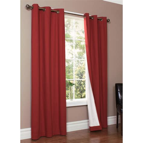 108 Inch Curtains Walmart by Striped Dupioni Faux Silk Grommet Top Blackout Curtain 84