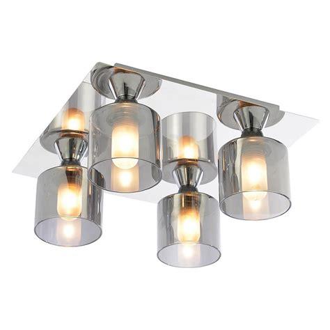 bathroom ceiling light tarum bathroom ceiling light 4 light flush chrome from