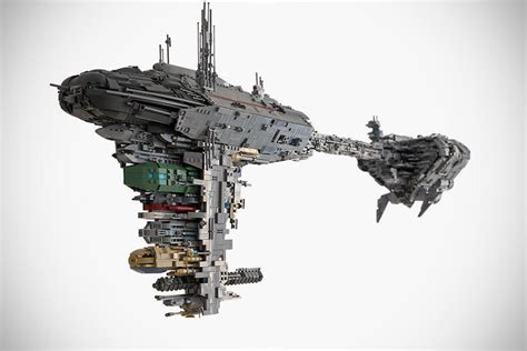 lego enthusiast built  star wars nebulon