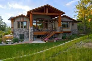 daylight basement homes castle rock craftsman home craftsman exterior denver