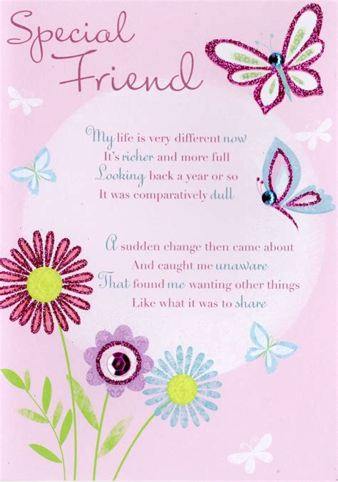 greeting card words of thank you special friend greeting card cards kates
