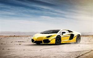 Most Beautiful Lamborghini Aventador Wallpaper Full HD