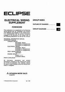 Wiring Diagrams And Free Manual Ebooks  1995 Mitsubishi Eclipse Factory Service Manual