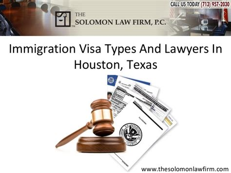 Immigration Visa Types And Lawyers In Houston, Texas