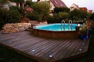 Deco Piscine Hors Sol : deco piscine hors sol bois ~ Melissatoandfro.com Idées de Décoration