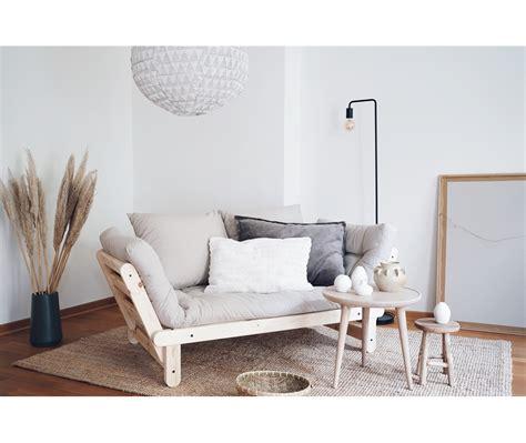 futon divano divano letto futon beat non verniciato zen pino